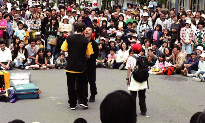 今週末は遠刈田大道芸フェスティバル