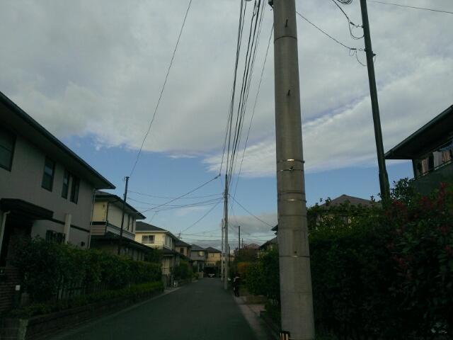 気持ちのよい空模様とsora模様。