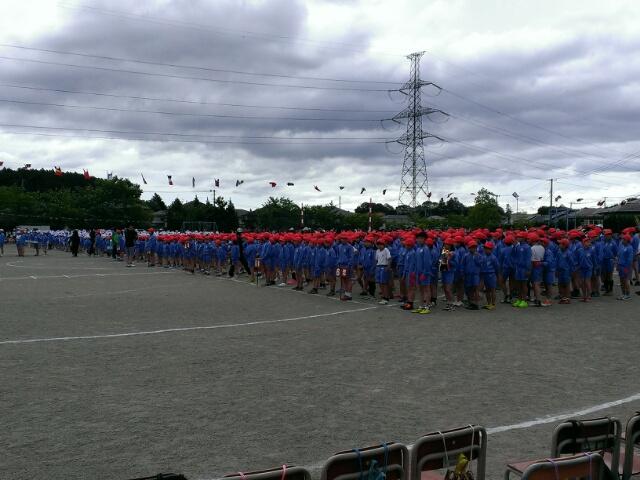 大運動会開催中。